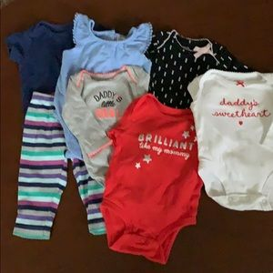 Other - 7pc infant girl size 3mo bundle